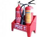 Kệ đôi đặt bình chữa cháy